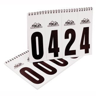 Toklat Toklat Number Flip Chart