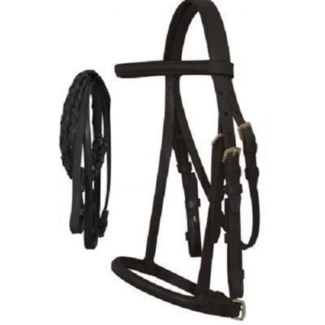 English Bridle with Laced Reins