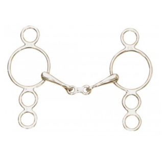 CENTAUR Centaur French Link 3 Ring Gag