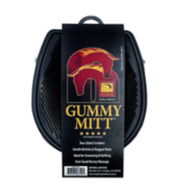 Gummy Mitt Horse Groomer