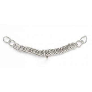 "CENTAUR Centaur SS Double Link Curb Chain Stainless Steel 8.5"""