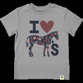 John Deere John Deere Kids I Love Horses Short Sleeve