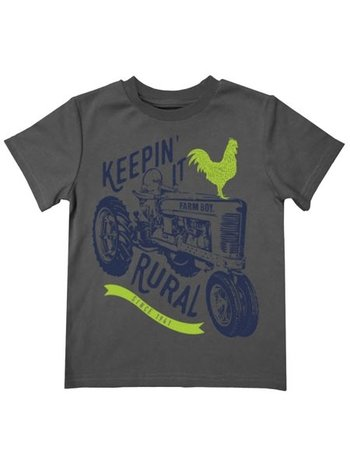 Farm Boy Brand Keepin' it Rural Short Sleeve Tee Shirt