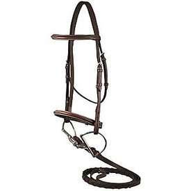 DaVinci DaVinci Fancy Stitch Raised Hunter Bridle Brown Pony