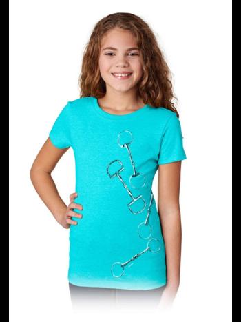 Stirrups Clothing Company Stirrups Four Large Bits Girls Short Sleeve Tee