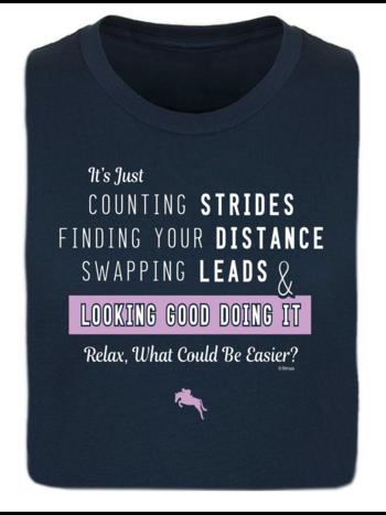 Stirrups Clothing Company Stirrups Counting Strides Ladies Short Sleeve Tee