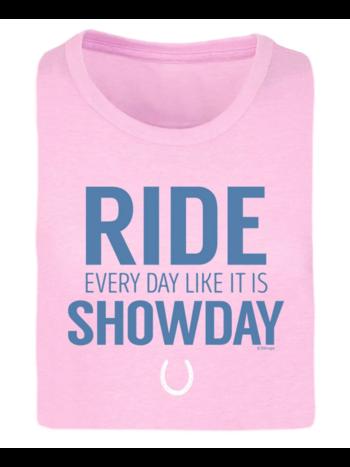 Stirrups Clothing Company Stirrups Ride Like Showday Ladies Short Sleeve Tee