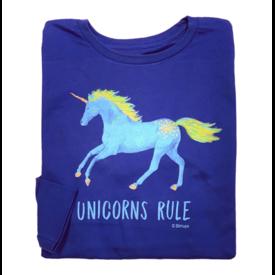 STIRRUPS CLOTHING Stirrups Unicorns Rule Kids Long Sleeve Tee