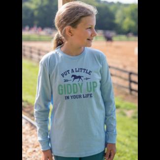 STIRRUPS CLOTHING Stirrups Giddy Up Kids Long Sleeve