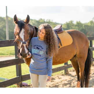 STIRRUPS CLOTHING Stirrups Giddy Up Adult Thermal Long Sleeve