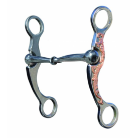 """Professionals Choice Professional's Choice 6"""" Copper Shank Snaffle"""