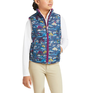 Ariat Ariat Kids Emma Insulated Reversible Vest