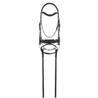 CAMELOTGLD Camelot Gold RCS Crank Flash Dressage Bridle