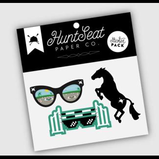 Hunt Seat Paper Co. Hunt Seat Paper Co. Sticker Pack