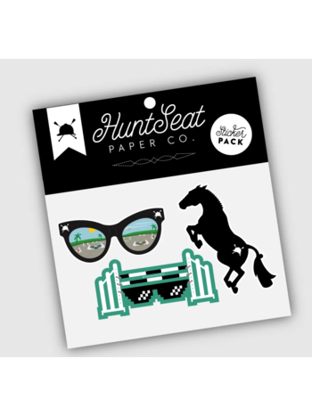 Hunt Seat Paper Co. Hunt Seat Paper Co. Sticker Pack