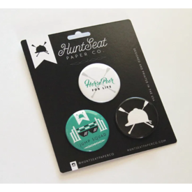 Hunt Seat Paper Co. Hunt Seat Paper Co. Button Pack