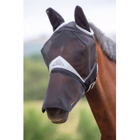 Shires Shires Full Face Fly Mask - Detachable Nose