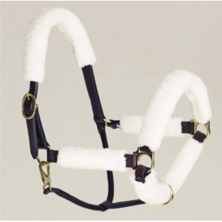 EQUIESSENT Equi-Essentials Synthetic Fleece Halter Tube 6 Piece Kit