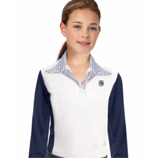 ROMFH Romfh Kids Signature Long Sleeve Show Shirt with Magnet Collar