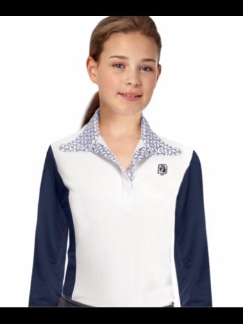 ROMFH Romfh Kids Signature Long Sleeve Show Shirt with Magnet Collar