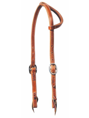 Professionals Choice Professional's Choice Doubled & Stitched Turned-Ear Headstall 5/8""