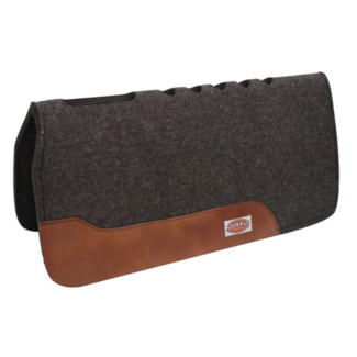 Showman Showman Felt Mohair Saddle Pad with Vented Back and Withers