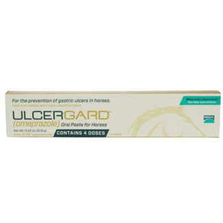 MERIAL EQUINE          D Ulcergard Oral Paste 4 dose Syringe