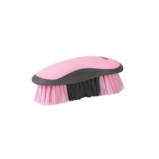 Weaver Leather Weaver Dandy Brush, Gray/Pink