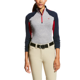 Ariat Ariat Ladies Cadence Wool 1/4 Zip Baselayer