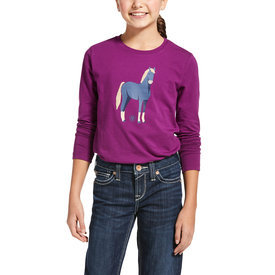 Ariat Ariat Kids Chenille Horse Long Sleeve Tee