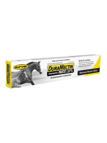 DURVET/EQUINE           D DuraMectin Paste 1.87% 0.21