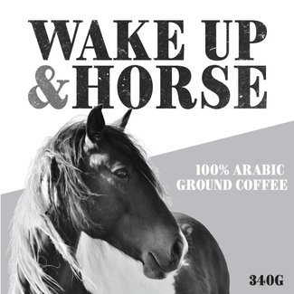 Wake Up & Horse Laid Back Dark Roast