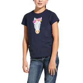Ariat Ariat Kids Flower Crown Tee Shirt