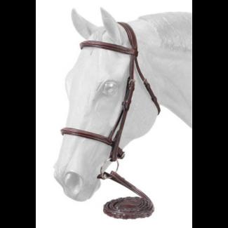 Equiroyal Premium Padded Fancy Stitched Raised English Bridle - Full