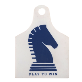 WEQUINE Classic Equine Single ID Tag