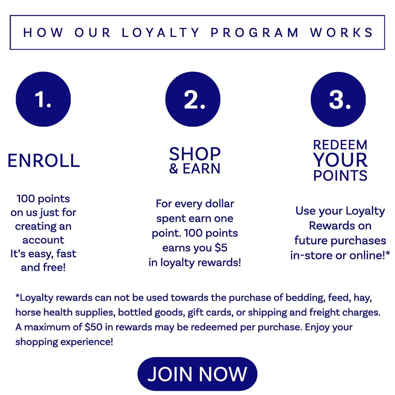 fair hill saddlery loyalty program