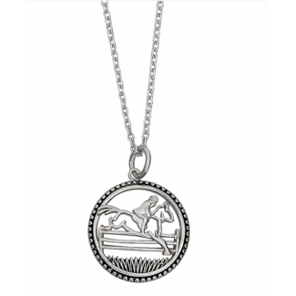AWST AWST Sterling Silver Round Jumper Pendant Necklace