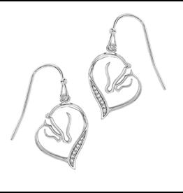 AWST AWST Mare & Foal Horsehead Earrings