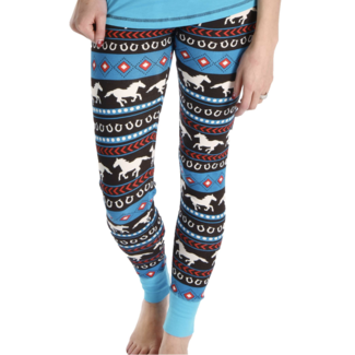 Lazy One Lazy One Horse Fair Isle PJ Legging