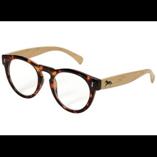 AWST AWST Bamboo Frame Galloping Horse Reader Glasses