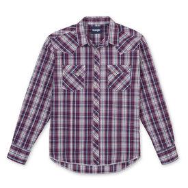 Wrangler Wrangler Ladies Fashion Long Sleeve Snap Shirt