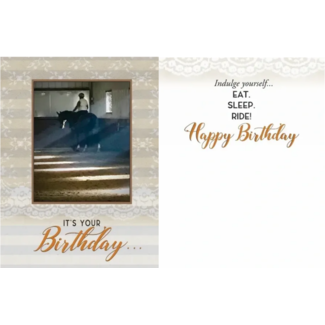 HORSE HOLLOW PRESS Horse Hollow Press Birthday Greeting Card
