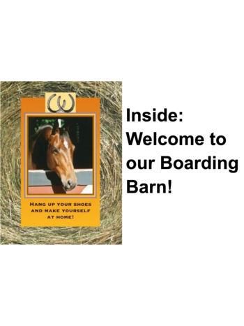 HORSE HOLLOW PRESS Horse Hollow Press Greeting Card