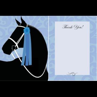 HORSE HOLLOW PRESS Horse Hollow Press Thank You Card