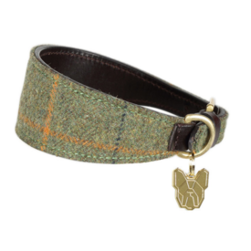 Digby & Fox Shires Digby & Fox Tweed Greyhound Collar