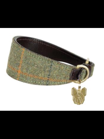 Digby & Fox Shires Digby & Fox Tweed Greyhound Collar