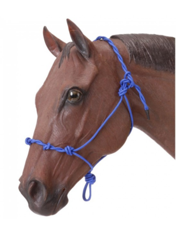 Tough 1 Tough-1 Knotted Rope and Twisted Crown Training Halter