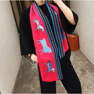 """Winding River Winding River Bow Scarf 58"""" x 8"""" -"""