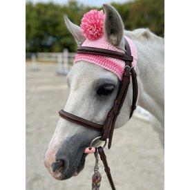 Belle & Bow Belle & Bow Pony Pom Pom Bonnet