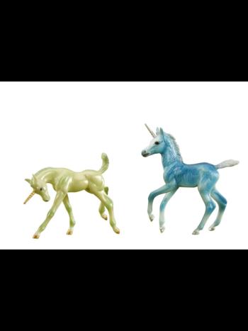 Breyer Zoe and Zander Unicorn Foals W62206
